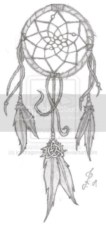dreamcatcher tattoos. whereas a dreamcatcher